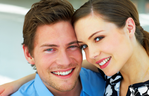 Cosmetic Dentist Fremont Smiling Couple